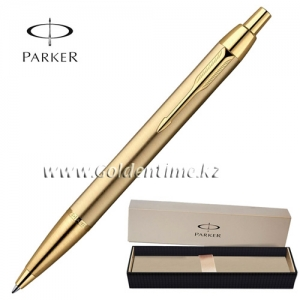 Ручка Parker 'IM' Brushed Metal Gold GT S0736980