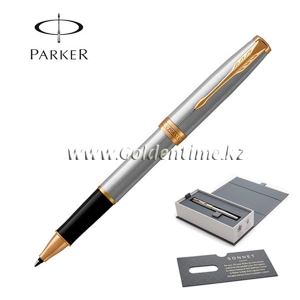 Ручка роллер Parker 'Sonnet' Stainless Steel 1931506