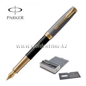 "Ручка Parker ""Sonnet"" Chiselled and Black GT 1931537"