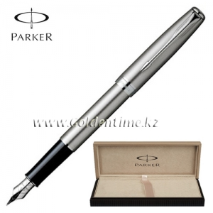 Ручка Parker 'Sonnet' Stainless Steel СТ S0809210