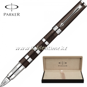 Ручка Parker '5th mode' INGENUITY Large Brown Rubber and Metal CT S0959180