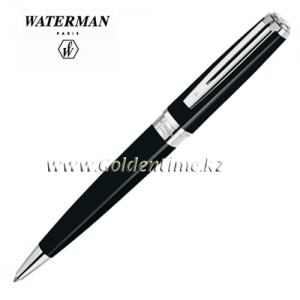 Ручка Waterman Exception Slim Black Lacqu ST S0637040