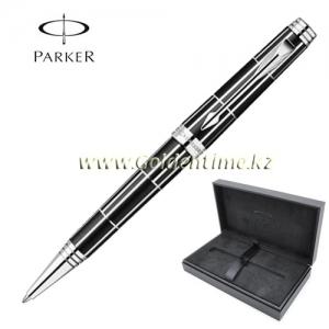 Ручка Parker 'Premier' Luxury Black CT 1876393
