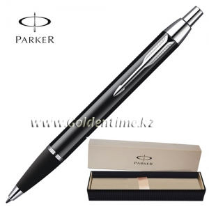 Ручка Parker 'IM' Metal Deep Black CT S0856430