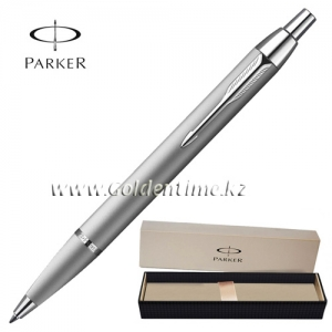 Ручка Parker 'IM' Metal Silver Chrome CT S0856450