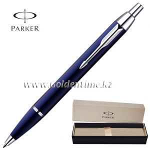 Ручка Parker 'IM' Metal Deep Blue CT S0856460