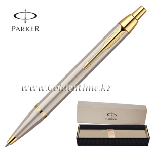 Ручка Parker 'IM' Brushed Metal GT S0856480