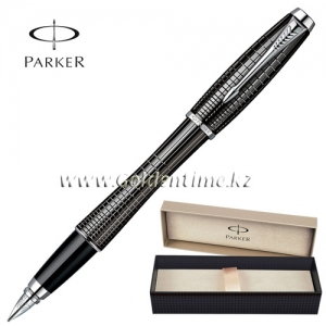 Ручка Parker 'Urban' Premium Ebony Metal Chiselled CT S0911480