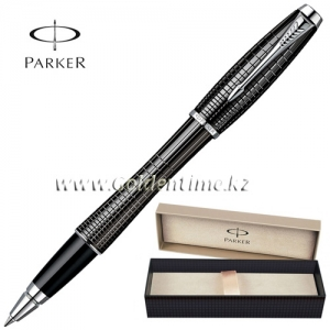 Ручка Parker 'Urban' Premium Ebony Metal Chiselled CT S0911490