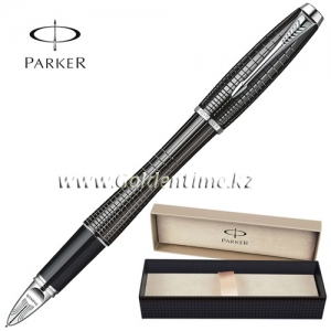 Ручка Parker '5th mode' Urban Premium Ebony Metal Chiselled S0976050