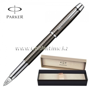 Ручка Parker '5th mode' IM Premium Dark Gun Metal Chiselled CT S0976110