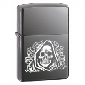 Зажигалка Zippo 24295 The dark side black ice